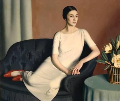 Marguerite Kelsey 1928 by Meredith Frampton 1894-1984