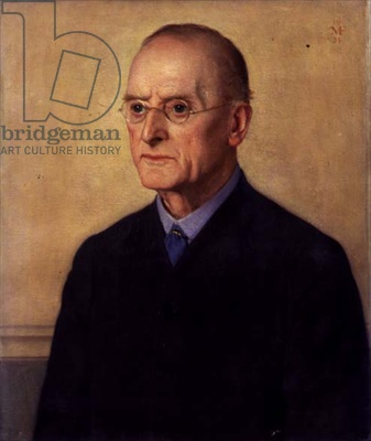 Portrait of Charles Francis Annesley Voysey (1857-1941) 1924