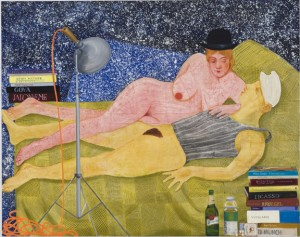 nicole Eisenman-Night-Studio-300x237