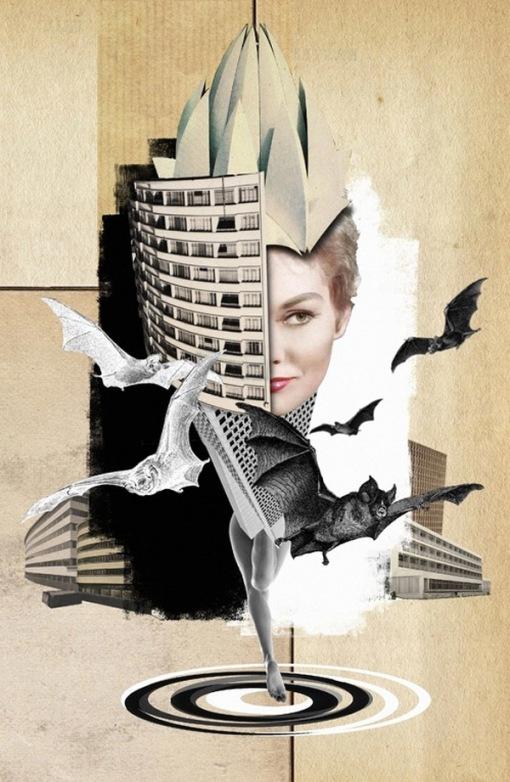 Franz-Falckenhaus-Mixed-Media-Collages