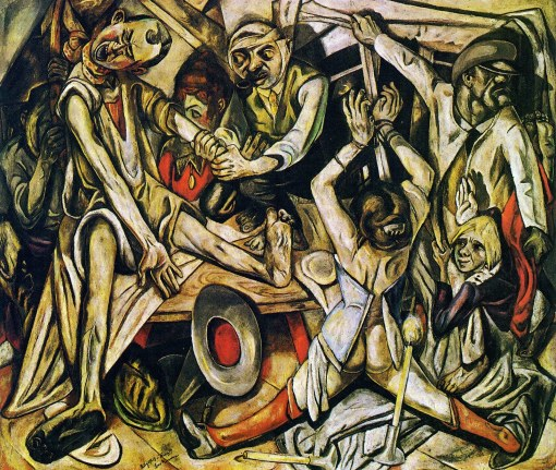 Max Beckmann; The Night better, 1919