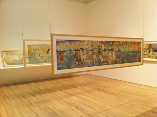 Henry Darger - Andrew Edlin Gallery - Install 2 of 2