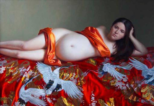 Evan Wilson 0_maternity_painting _ artodyssey
