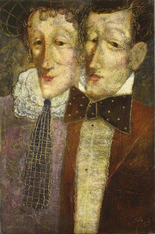 Andrey Aranyshev,- Double Portrait, 2007