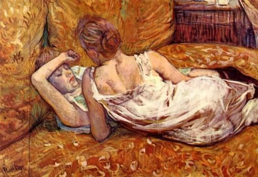 Henri de Toulouse-Lautrec - Devotion_ The Two Girlfriends