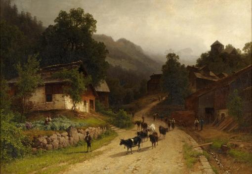 Hermann_Pohle_Ansicht_von_Bürglen_1876