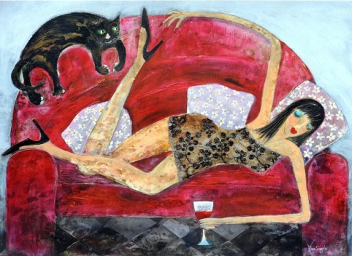 Rosa-Sepple-8828HQ-The-Cat-on-the-Couch