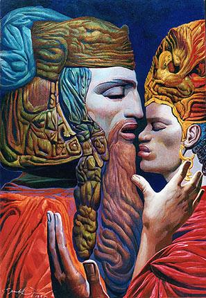 Ernst Fuchsdavid-and-batshebah-iv-1995