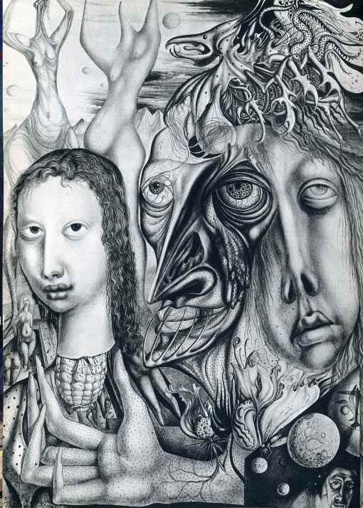 Ernst Fuchsthe-lamentation-of-the-ambivalent-1947