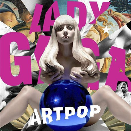 Lady Gaga Artpop album cover by Jeff Koons