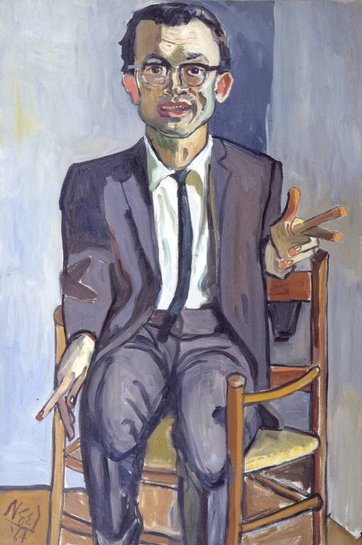 Sherry Speeth 1964 by Alice Neel 1900-1984