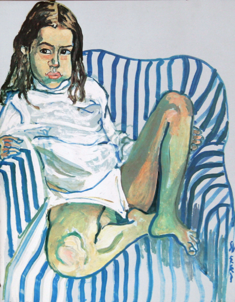 alice neelneel-portrait_of_girl