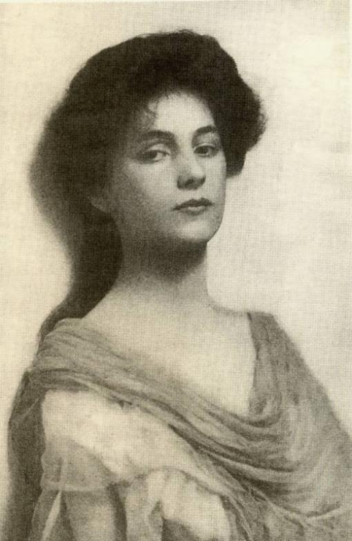 Gertrude Käsebier Evelyn-Nesbit-age-15,-1900