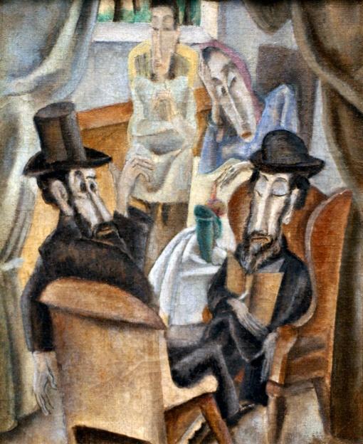Max WeberWLA_jewishmuseum_Sabbath_by_Max_Weber_2