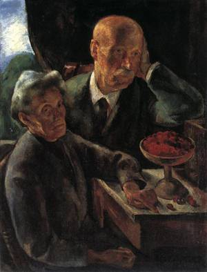 Istvan SzonyiElderly_Couple_(The_Artist's_parenIstvan Szonyits)_1920