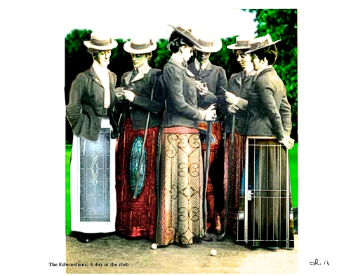 The Edwardians. a day at the club2