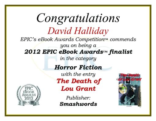 Award finalist Death of Lou Grant