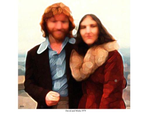 David and Mieke 1979