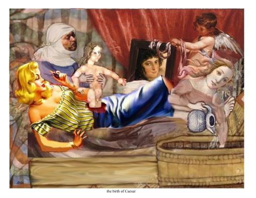 the birth of Caesar
