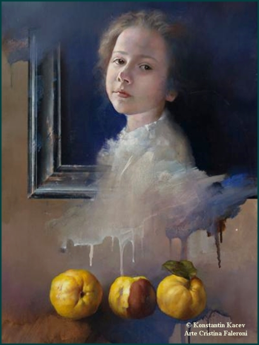 Painter Konstantin Kacev