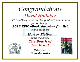 Award finalist Death of Lou Grant