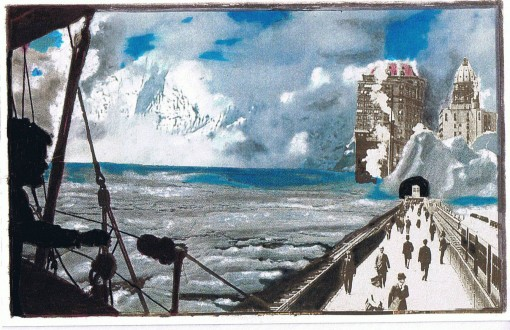 Landscape Iceberg City 1