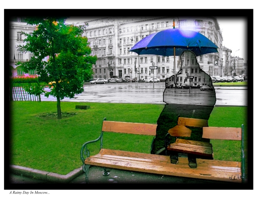 A Rainy Day In Moscow