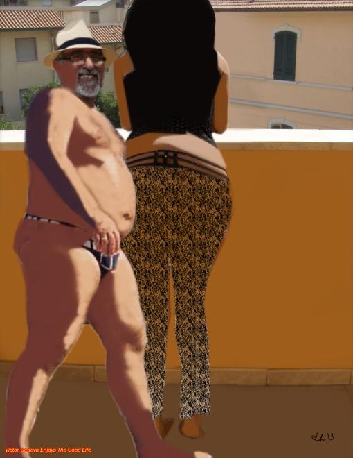 Victor Genova Enjoys The Good Life