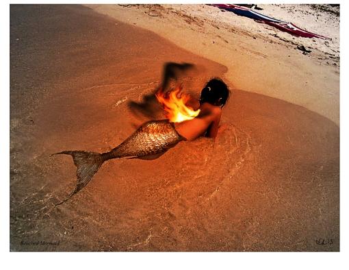 Beached Mermaid