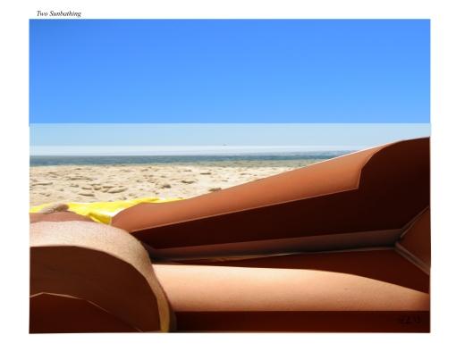 Two Sunbathing