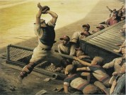 6-robert-riggs-american-artist-1896-1970-catcher-on-the-line