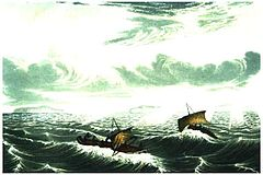 franklins_canoes_in_gale