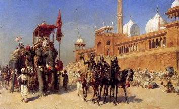 great-mogul-and-his-court-returning-from-the-great-mosque-at-delhi-india