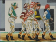 Five Jocks Walking, 6.25 x 8.5