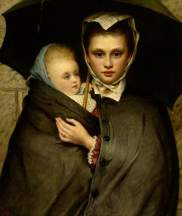 Brooks, Maria; Out in the Rain; Southampton City Art Gallery; http://www.artuk.org/artworks/out-in-the-rain-17364