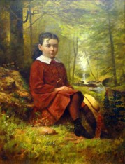 young-girl-in-a-forest