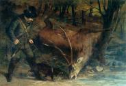 Gustave-Courbet-The-German-Huntsman