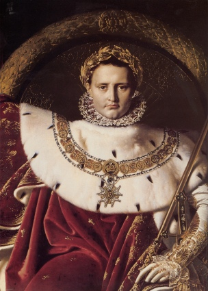 Ingres_Napoleon_I_on_His_Imperial_Throne_detail