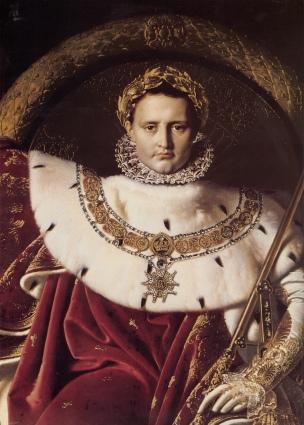 Ingres_Napoleon_I_on_His_Imperial_Throne_detail
