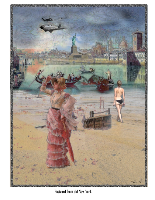 Postcard from Old New York