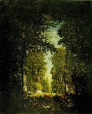 Théodore Rousseau - Une avenue, forêt de L'Isle-Adam