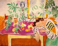 10c Henri Matisse (1869-1954) Still Life with Sleeping Woman 1940