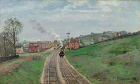 Pissarro, Camille; Lordship Lane Station, Dulwich; The Courtauld Gallery; http://www.artuk.org/artworks/lordship-lane-station-dulwich-207378