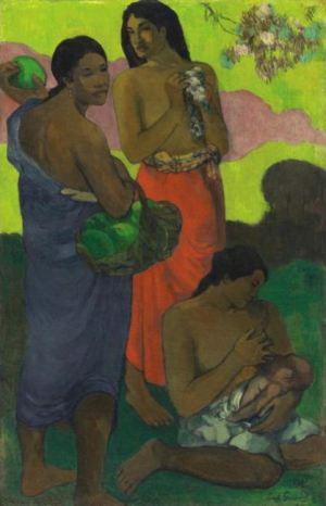 Gauguin_-_Maternite_II