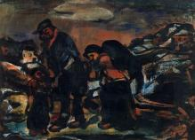 Georges-Rouault-The-Fugitives-The-Exodus-