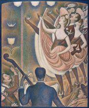 Georges_Seurat,_1889-90,_Le_Chahut,_Kröller-Müller_Museum