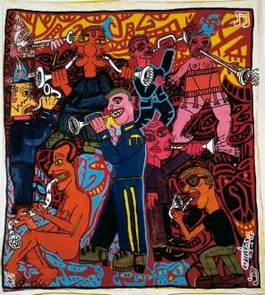 05 - Robert COMBAS, Les trompettes au son du cerf gueulard, 1983