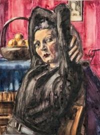 henri-le-fauconnier-frauenporträt-mit-obstkorb