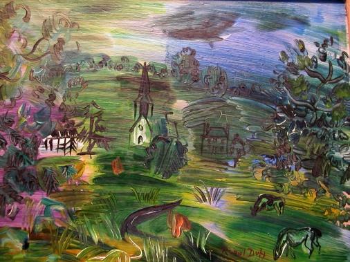 Raoul-Dufy---Paysage-avec-maisons-et-betail-17121018124210