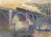 Robert_Antoine_Pinchon,_Le_Pont_aux_Anglais,_soleil_couchant,_1905,_oil_on_canvas,_54_x_73_cm,_Musée_des_Beaux-Arts_de_Rouen